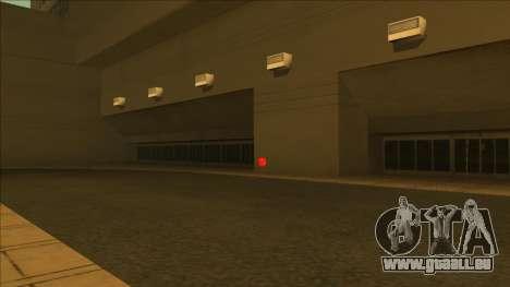 HP micros près des hôpitaux dans l'état pour GTA San Andreas troisième écran