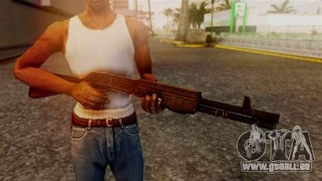 BlueSteel Shotgun pour GTA San Andreas troisième écran