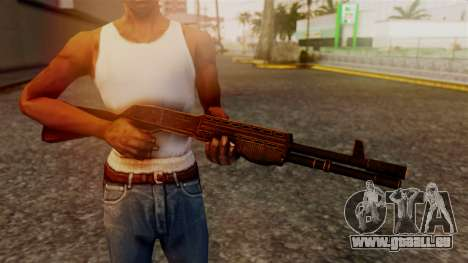 BlueSteel Shotgun für GTA San Andreas dritten Screenshot