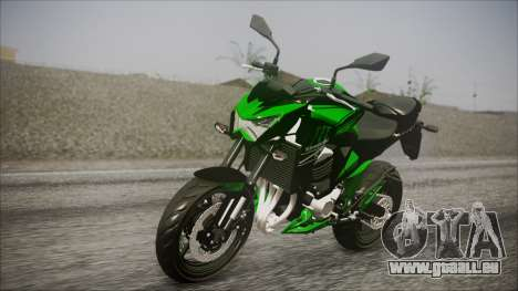 Kawasaki Z800 Monster Energy pour GTA San Andreas