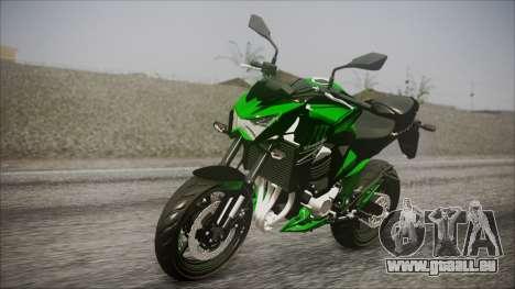 Kawasaki Z800 Monster Energy für GTA San Andreas
