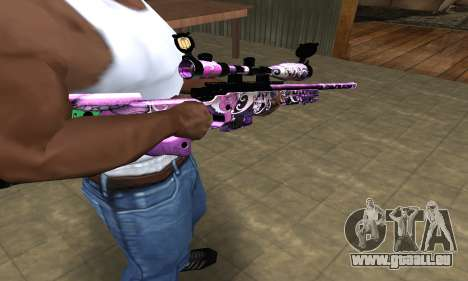 Neon Sniper Rifle pour GTA San Andreas