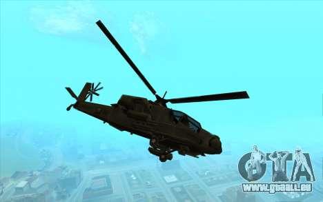 Chasseur из Vice City pour GTA San Andreas laissé vue