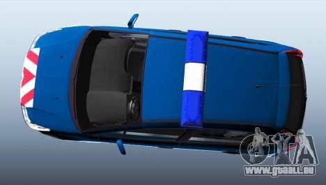 Citroen C4 Gendarmerie [ELS] für GTA 4 linke Ansicht