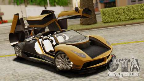 Pegassi Osyra Extra 2 pour GTA San Andreas vue de côté