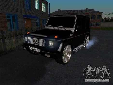 Mercedes-Benz G 320 pour GTA San Andreas