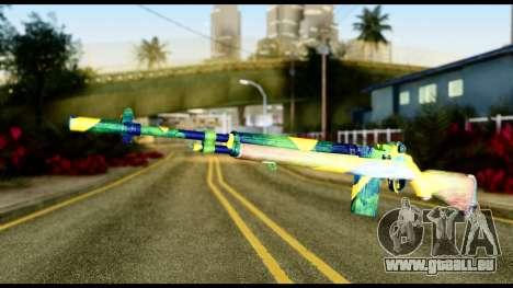 Brasileiro Rifle für GTA San Andreas