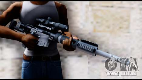 McMillan CS5 v2 pour GTA San Andreas troisième écran