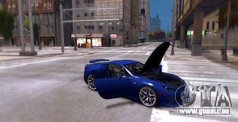 Lexus LF-A 2010 [EPM] pour GTA 4 est un droit