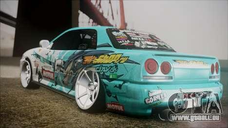 Nissan Skyline ER34 GT-Shop pour GTA San Andreas