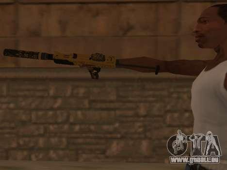 Micro SMG für GTA San Andreas dritten Screenshot