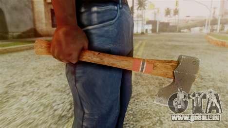 GTA 5 Hatchet v1 pour GTA San Andreas troisième écran