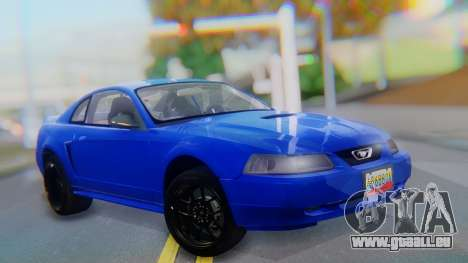 Ford Mustang 1999 Clean für GTA San Andreas