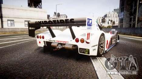 Radical SR8 RX 2011 [11] für GTA 4 hinten links Ansicht
