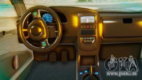 GTA 5 Pegassi Osiris IVF pour GTA San Andreas vue intérieure
