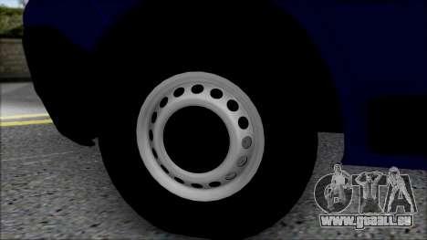Opel Vivaro Policija für GTA San Andreas rechten Ansicht