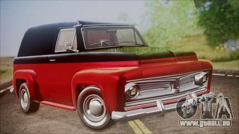GTA 5 Vapid Slamvan IVF pour GTA San Andreas