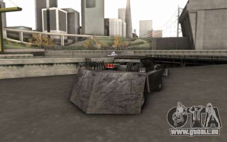 Dodge Charger Infernal Bulldozer für GTA San Andreas
