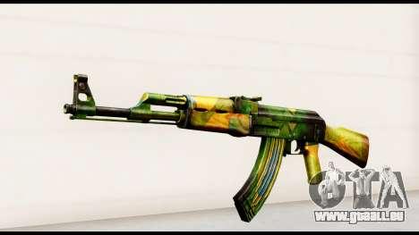 Brasileiro AK-47 pour GTA San Andreas