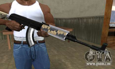 Cool Black AK-47 für GTA San Andreas