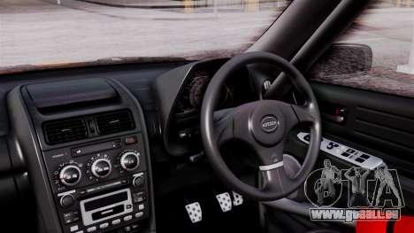 Toyota Altezza pour GTA San Andreas vue arrière