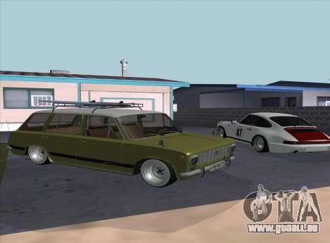 VAZ 2102 Resto pour GTA San Andreas sur la vue arrière gauche