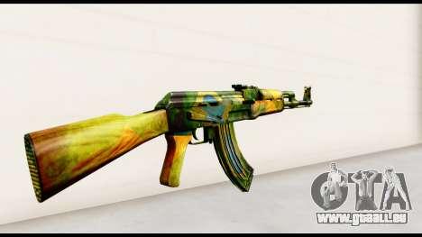 Brasileiro AK-47 pour GTA San Andreas deuxième écran