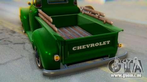 Chevrolet 3100 1951 Work für GTA San Andreas obere Ansicht