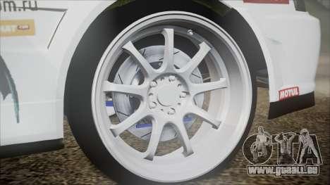 Nissan Skyline ER34 GT-Shop pour GTA San Andreas sur la vue arrière gauche