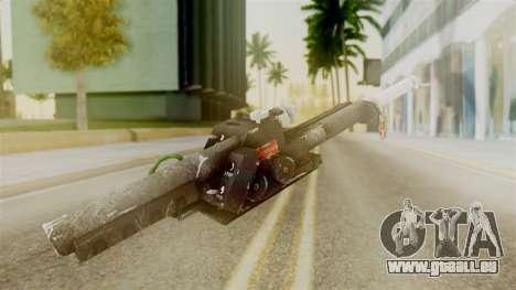 Ghostbuster Proton Gun pour GTA San Andreas deuxième écran