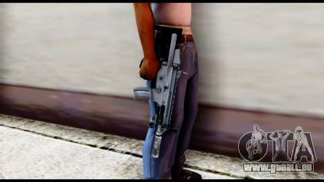MK16 PDW Advanced Quality v1 für GTA San Andreas dritten Screenshot