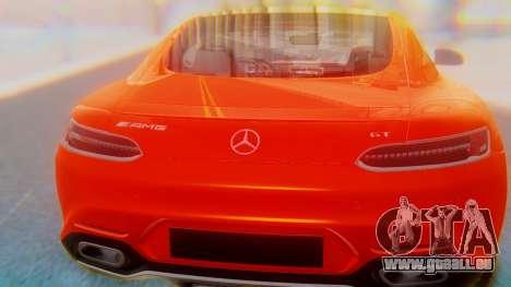 Mercedes-Benz SLS AMG GT für GTA San Andreas Innenansicht