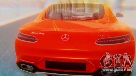 Mercedes-Benz SLS AMG GT pour GTA San Andreas vue intérieure
