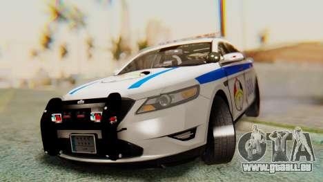 Ford Taurus Iraq Police v2 pour GTA San Andreas