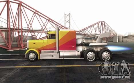 ShockWave Jet Truck pour GTA San Andreas vue de droite