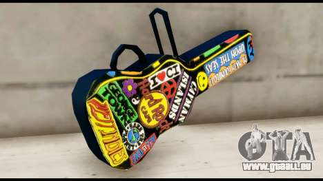 Guitar Case MG Colorful für GTA San Andreas zweiten Screenshot