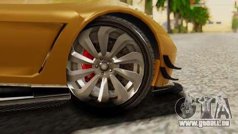 Pegassi Osyra Extra 2 pour GTA San Andreas sur la vue arrière gauche
