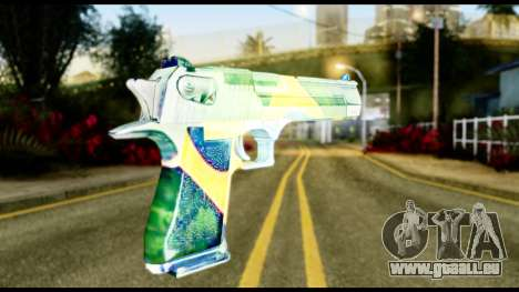 Brasileiro Desert Eagle für GTA San Andreas zweiten Screenshot