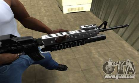 Modern Black M4 pour GTA San Andreas deuxième écran