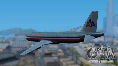 Airbus A320-200 American Airlines (Old Livery) pour GTA San Andreas laissé vue