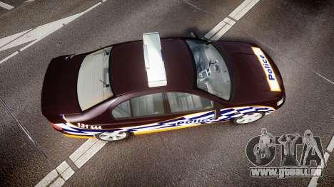 Ford Falcon BA XR8 Highway Patrol [ELS] für GTA 4 rechte Ansicht