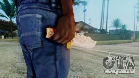 Red Dead Redemption Knife pour GTA San Andreas troisième écran