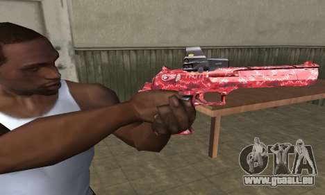Red Chest Deagle pour GTA San Andreas