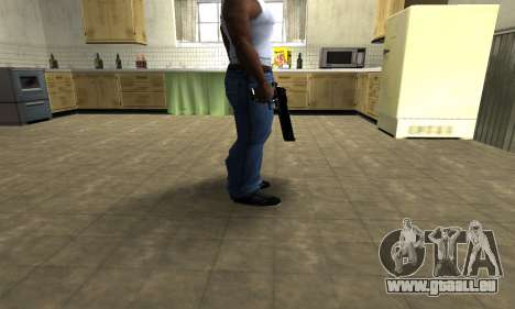 Black Cool Deagle für GTA San Andreas zweiten Screenshot