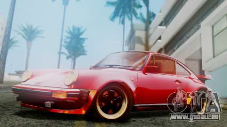 Porsche 911 Turbo (930) 1985 Kit A für GTA San Andreas linke Ansicht
