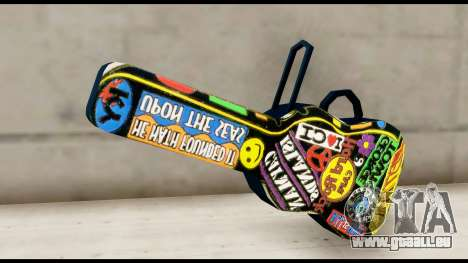 Guitar Case MG Colorful für GTA San Andreas