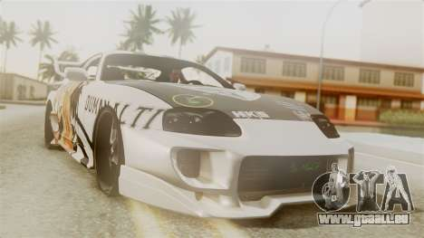 Toyota Supra Full Tuning pour GTA San Andreas