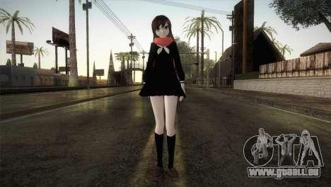 Tateyama Ayano (Kagerou Project) pour GTA San Andreas deuxième écran