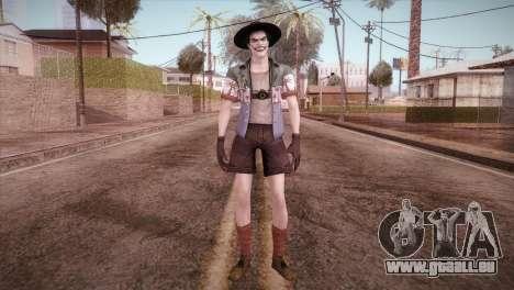 Joker pour GTA San Andreas deuxième écran