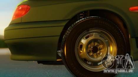VAZ 2113 Stoke pour GTA San Andreas sur la vue arrière gauche